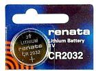 Renata 3V CR2032 Lithium Battery - 1pc Pack