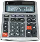 Innovera - 15971 Large Digit Commercial Calculator, 12 Digit LCD, Dual Power -