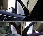 For Ford Explorer 2016 Inner Front Window Triangle Pillar Decoration Trim 2PCS