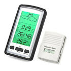 New Digital LCD Indoor Outdoor Temperature Humidity Meter Thermometer Hygrometer
