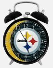 "Pittsburgh Steeler Alarm Desk Clock 3.75"" Room Decor X54 Nice for Gifts wake up"