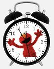 "Sesame Street Elmo Alarm Desk Clock 3.75"" Room Decor X31 Nice for Gifts wake up"