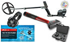 "XP Deus WS5 hp, LCD Remote MI-6 PinPointer, Hard Case, Water Kit, & 9"" coil"