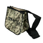 Teknetics Metal Detector Camo Finds Pouch w/ Two Large Pockets and Belt Included