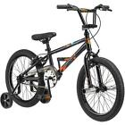 "18"" Mongoose Switch Boys' Freestyle Bike, Black"