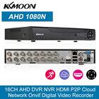 KKmoon 16CH Channel 1080N/720P CCTV Video Recorder AHD DVR HVR NVR P2P US O1V3