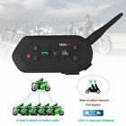 E2 1200m 6 Riders Bluetooth Intercom Motorcycle Helmet Interphone two-way Radio