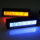 3in1 Temperature Clock Voltage LED New Digital Thermometer Meter with Batteries