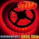 IP67 Waterproof 5M SMD 5050 Flexible 300 LED Light Strip Car Boat Decor Lamp 12V