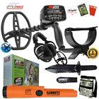 Garrett AT MAX Metal Detector, MS-3 Headphones, Pro Pointer AT, Cap & Digger