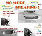 MotorKing Door Handle For NISSAN ALTIMA Outside Front Right K12 Silver B3750