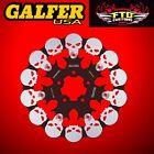 Galfer Front Floating Skull Rotor For 2000-2007 HD Road Glide DF680FRH
