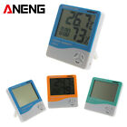 Indoor LCD Electronic Temperature Humidity Meter Digital Thermometer Alarm #b