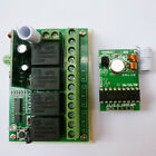 4 CH PT2262 Transmitter Control Relay Receiver Kits Arduino MCU Relay Switch