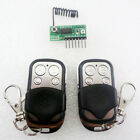 2x EV1527 Learning code remote control & 433M RF Wireless Delay Decoding module