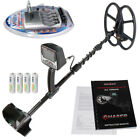 """Detech Chaser 14kHz VLF metal detector, 12x10"""" Ultimate Coil & Ni-MH Charger"""