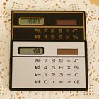Card Sized Mini Counter Ultra-thin Counter Card Calculator Function Calculator