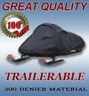 Snowmobile Sled Cover fits POLARIS 600 INDY Voyageur 144 2014-2016