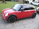 2003 Mini Cooper Hatchback 2D RED Mini Cooper 2003 Black roof /interior Needs REPAIRS!!~