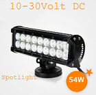 "New Refit Aid 54W 9"" Spotlight Car Dome LED Light Travel Jeep Spotlight &$"