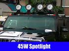 New 45W Spotlight Car Spotlight Car Dome LED Light Jeep Spotlight Black &$