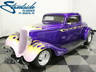 1933 Ford 3 Window Coupe  FORMER DUPONT PAINT SHOW CAR! 350 V8 W/ TH350 AUTO, PWR FRT DISCS, BEAUTIFUL ROD