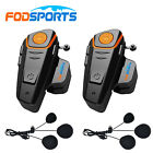 2 X 1000m Waterproof Intercom BT-S2 Motorcycle Bluetooth Interphone FM Headset