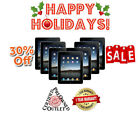 Apple Black/White NEW iPad 2,3,4 Air/ Mini  16GB-32GB-64GB-128GB Wi-Fi +Cellular