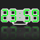 Large Modern Design Digital Led Bed Room Wall Clock Watches 24-Hour Display VW29