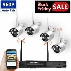 [AUTO-PAIR]Wireless Security Camera System,SMONET 4CH 1080P HD Video Security IP