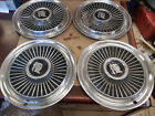 """1958 Dodge Wheel Covers Hubcaps Set of 4 Used 14"""""""