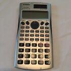 Casio FX-115MS Scientific Calculator, Battery/Solar Powered - WORKS!