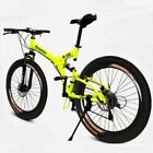 21 Speed Folding Bike City Cycling 26 inch Women's Men's Unisex Xmas Gift HOT US