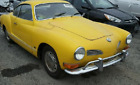 1971 Volkswagen Karmann Ghia Coupe 1971 Volkswagen Karmann Ghia Coupe 95518 Miles Yellow Coupe 4 Cyl Automatic