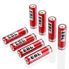 EBL 14500 Li-ion Rechargeable Batteries 3.7V 800mAh for LED Flashlight...