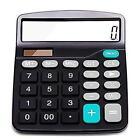 Everplus Calculator Electronic Desktop with 12 Digit Large, Solar Battery...