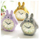 Totoro Quartz Table Clock Modern Timer Snooze Alarm Clock Pokemon LED Light Home