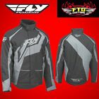 Fly Racing Outpost Black and Grey Snowmobile Jacket  470-4010
