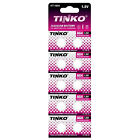 10pk Tinko 1.5V Alkaline Watch Batteries L626 LR626 LR66 MA R 377/37 RW 329 V376