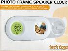 TECH TOYZ PHOTO FRAME SPEAKER CLOCK