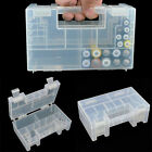 Hard Plastic Battery Case Holder Storage Box for AA AAA Batteriesevs