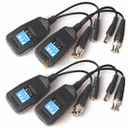20 Pairs CCTV Coax BNC Video Power Balun Transceiver to CAT5e 6 RJ45 Connector