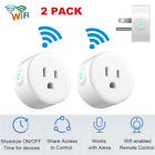 2Pack Smart Wi-Fi Mini Outlet Switch Works Echo Alexa Remote Control US Plug NEW
