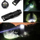 2x 6000 Lumen XPE Zoomable Tactical LED Flashlight Torch Lamp Super Bright 6000K