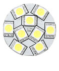 """TRAILER MARINE RV AUTO PART REPLACEMENT LED BULB G4 WARM WHITE BACK PIN 1.1""""D"""