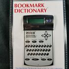 Zelco Bookmark Dictionary Calculator Alarm Clock Model 90082 Reading Aid New