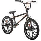 "20 "" Mongoose Rebel Freestyle Boys BMX Bike Rugged Steel Black Frame Bicycle New"