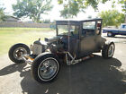 1927 Ford Model T Tall T 1927 FORD TALL T COUPE BARN FIND 1960'S HOT RAT ROD 1932 MODEL A CLEAR TITLE SBC