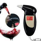 Digital LCD Breath Alcohol Breathalyzer Analyser Tester Detector Keychain GQ