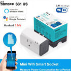 Sonoff S31 Smart Plug Socket Adapter Switch 16A Wifi APP Remote Power Moniter